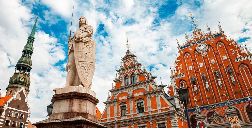... Para finalizar la jornada en Riga