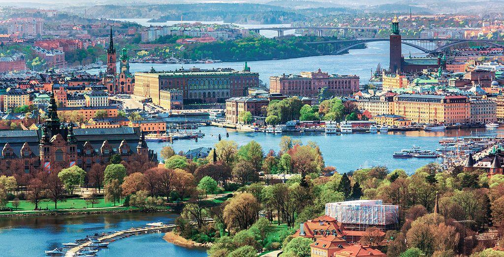 Estocolmo, la Bella sobre el Agua, será tu última parada