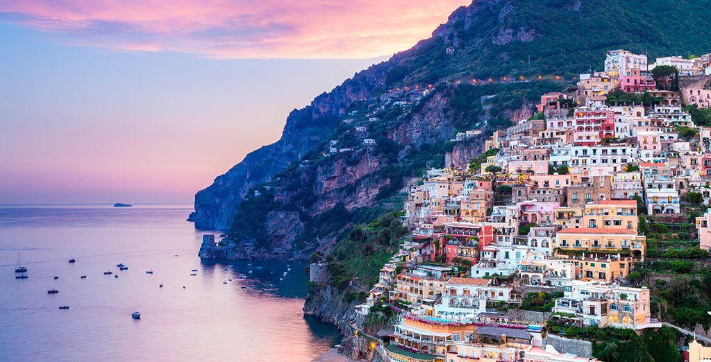 Visita la bella localidad de Sorrento