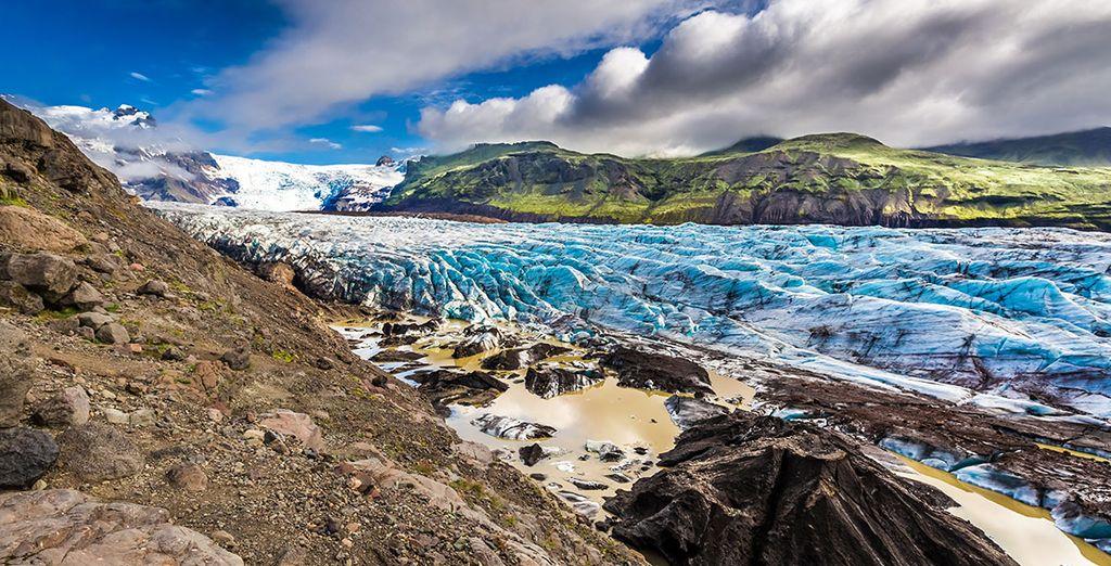 El glaciar más grande de Europa, Vatnajökull