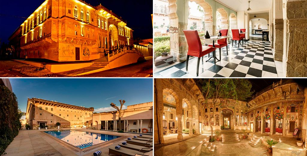 Otra opción es el Hotel Vivaana Haveli 4*