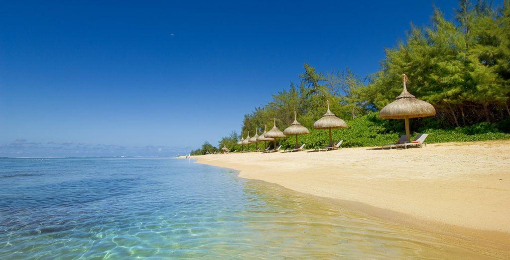 Playas de arenas infinitas y aguas tranquilas