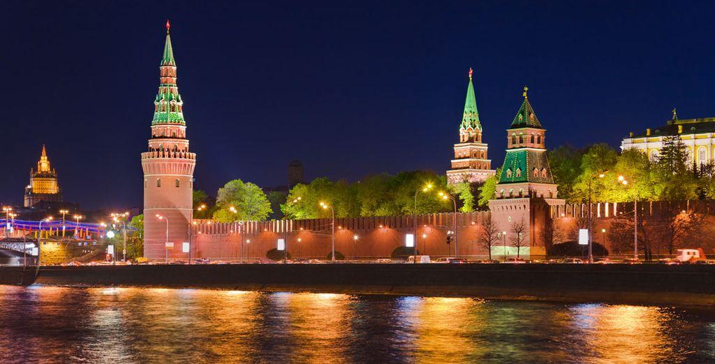 La noche sobre el Moscova