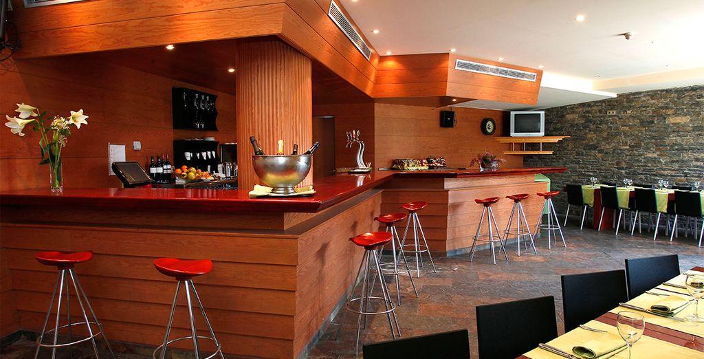 Podrán saborear su cocktail favorito en el bar de la planta principal
