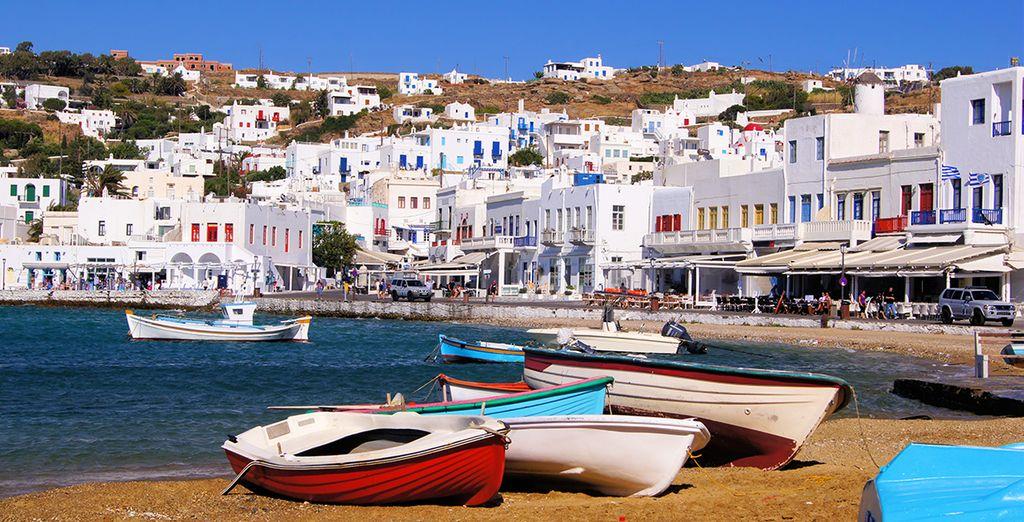 Crucero por las Islas Griegas - Mykonos
