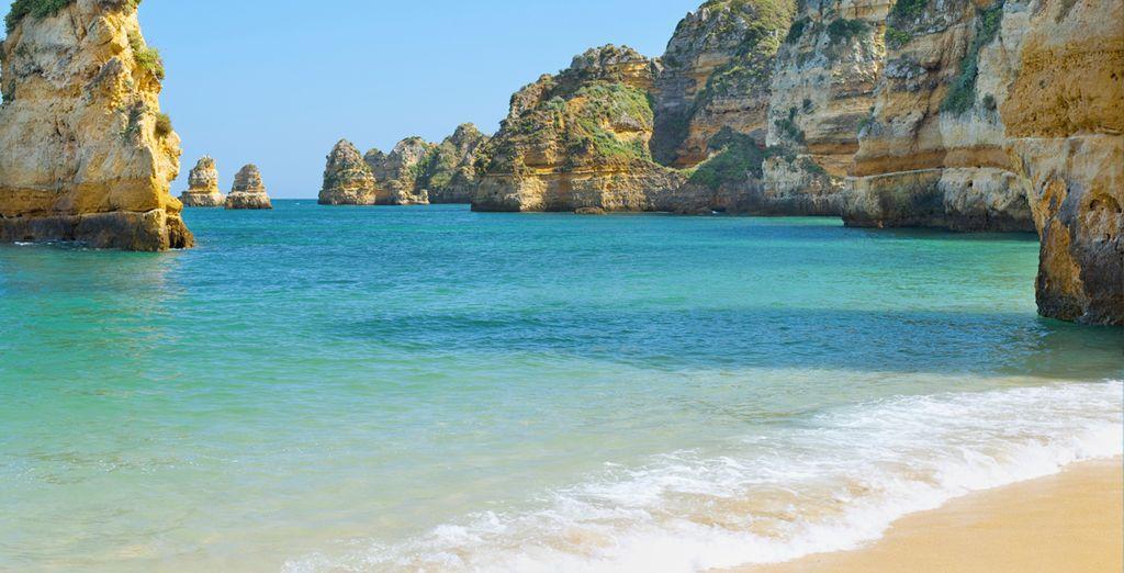 Hoteles en Portugal - Las playas del sur en El Algarve