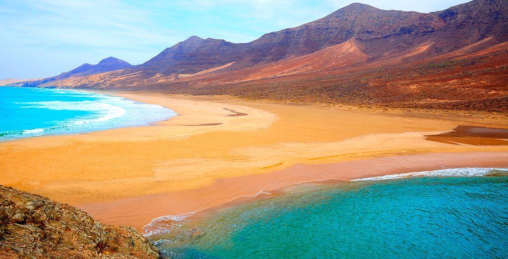 Viajes a Fuerteventura todo incluido - las montañas