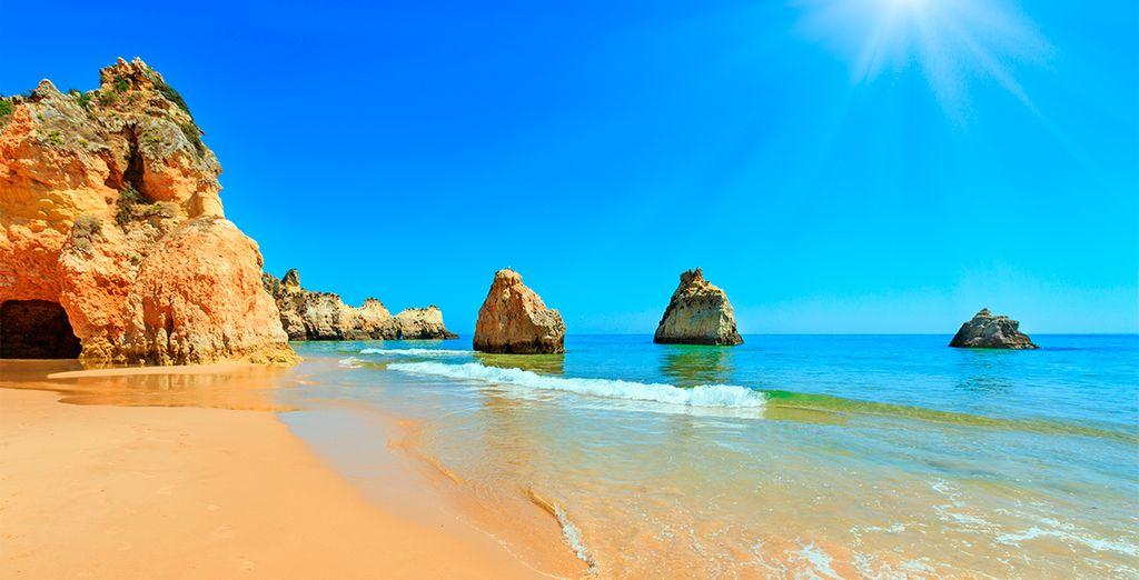 Hoteles todo incluido en El Algarve - Las playas