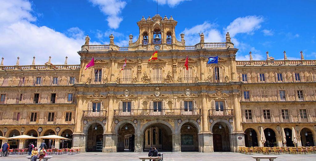Hotel con spa en Salamanca - El centro histórico de Salamanca