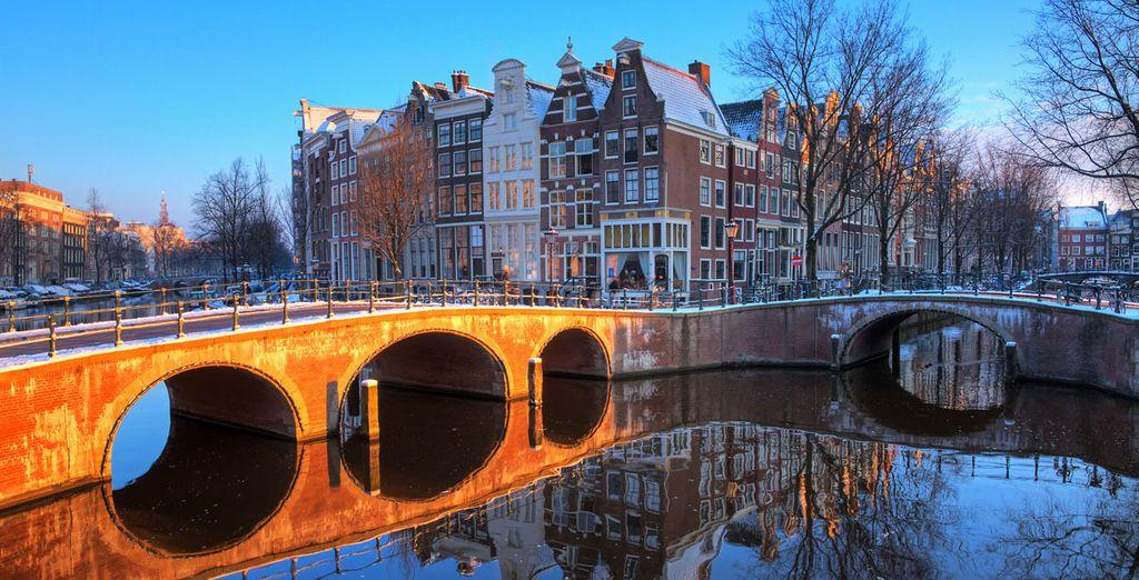 Ámsterdam tiene un encanto especial en invierno
