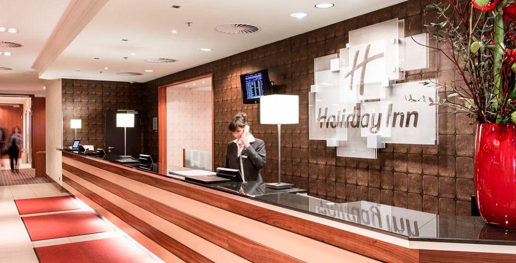 Sea bienvenido en el Holiday Inn Munich Centre