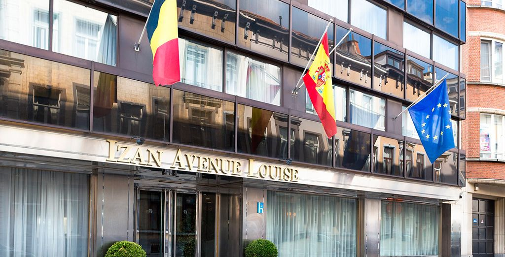 Bienvenido al hotel Izan Avenue Louise