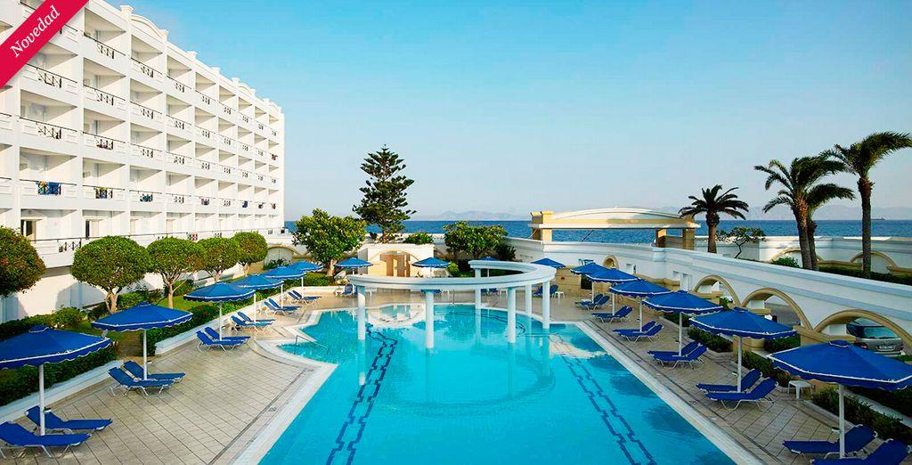 Bienvenido al encanto del Mitsis Grand Hotel de Rodas