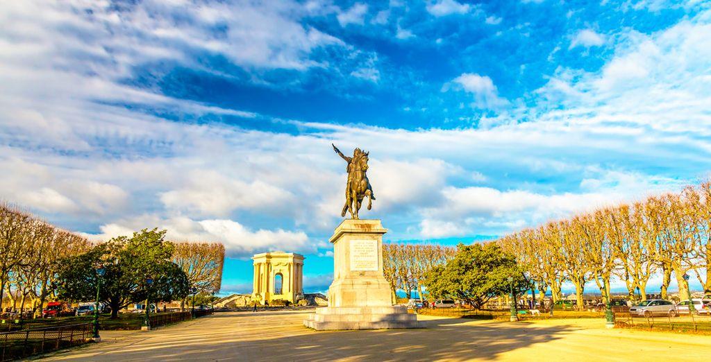 Montpellier, un escenario único y especial