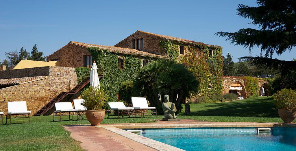 Hotel mas salvi 4 voyage priv hasta 70 for Jardines particulares