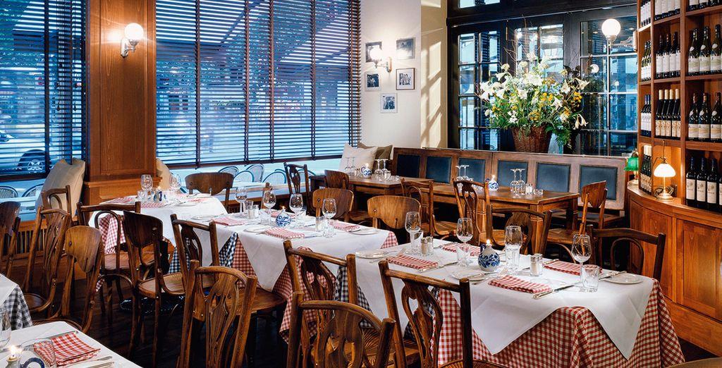 La brasserie Reinhard ofrece cocina ligera