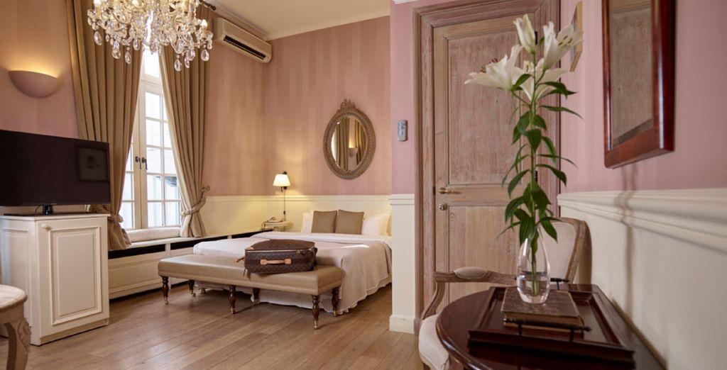 Descansarás en una elegante habitación Executive
