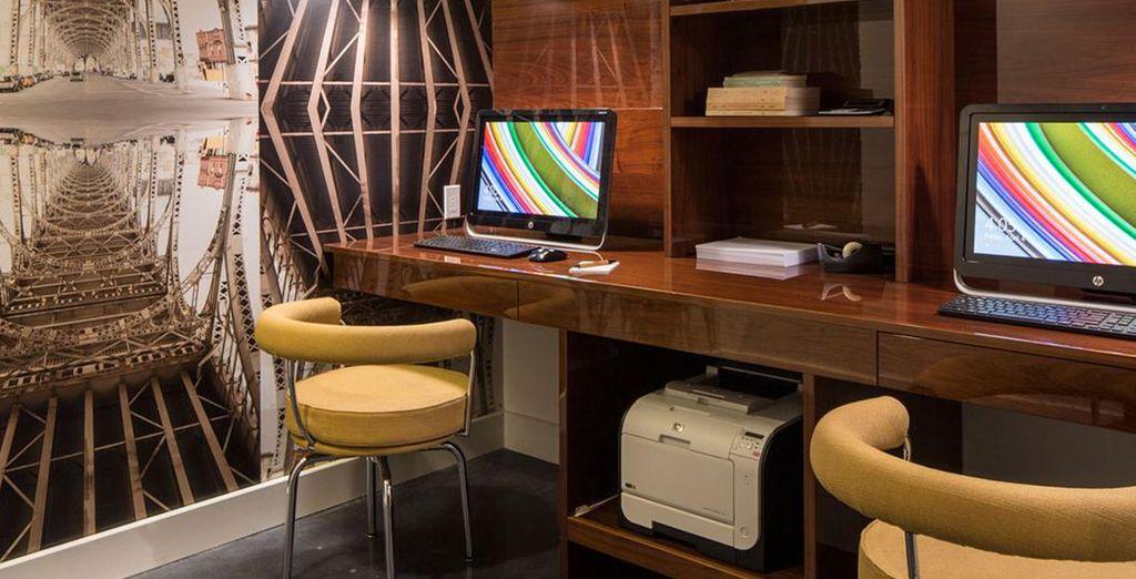 Un hotel con todo lo que necesita para mantenerse comunicado
