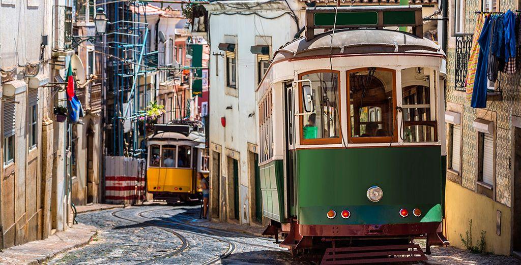 Te encantará Lisboa por su cercanía, su historia, su tranvía...