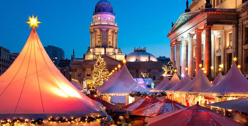 Descubre sus hermosos mercados y déjate contagiar por el espíritu navideño