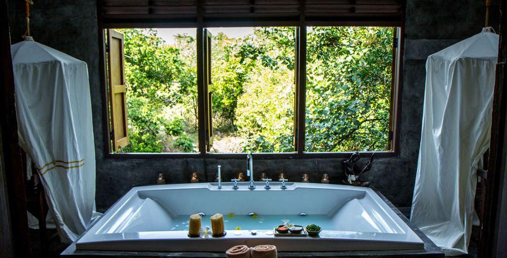 El spa es el lugar perfecto para que te relajes