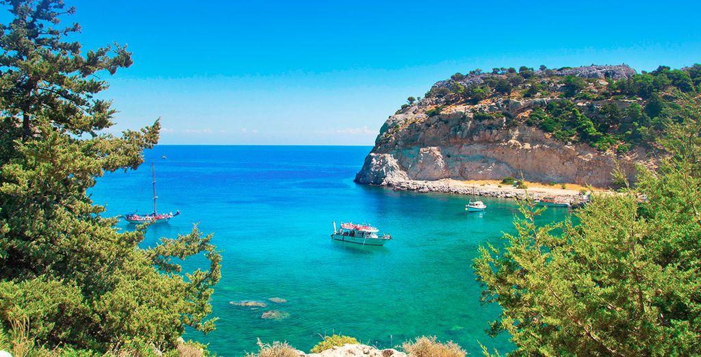 Sus esperadas vacaciones a un paso de la famosa playa de Ladiko