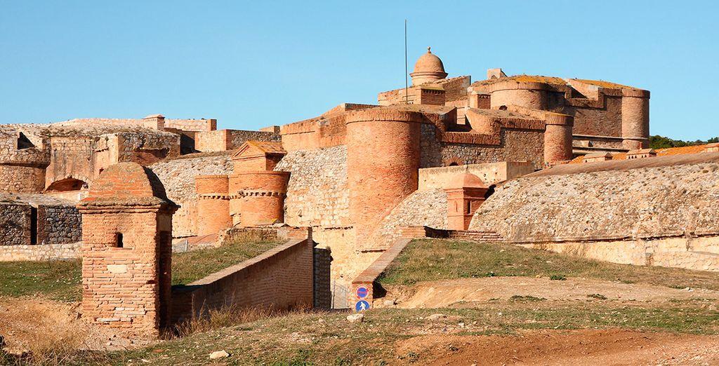 Aprovecha para visitar la fortaleza de Salses