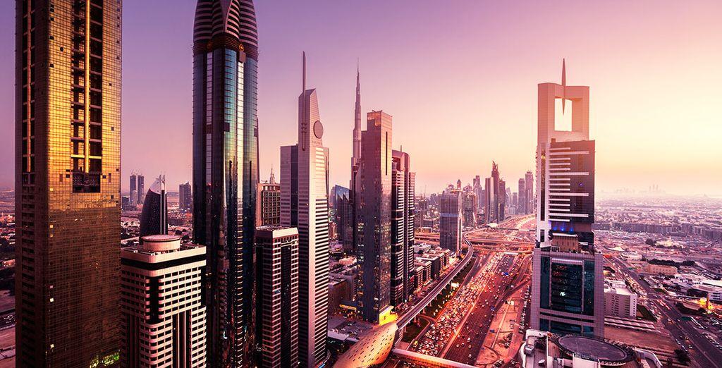 Bienvenido a la sofisticada Dubái