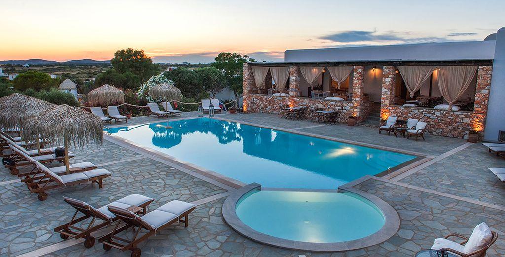 Sus merecidas vacaciones en Paros