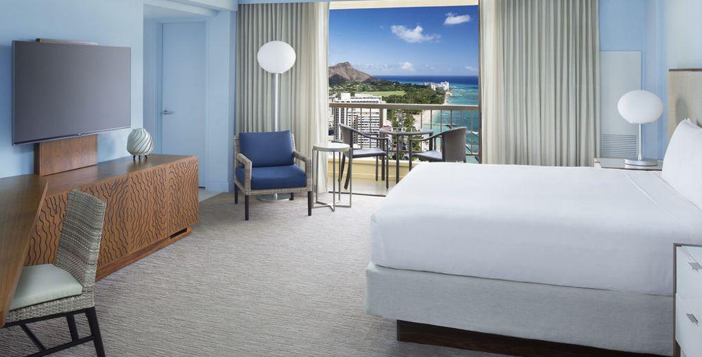 En Hawaii te alojaras en Hyatt Regency Waikiki Beach Resort & Spa 4*