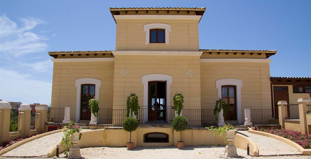 Una elegante casa de campo construida a principios del siglo XIX