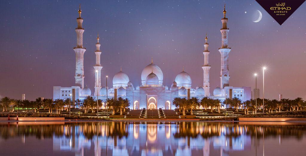 Bienvenido a la fascinante capital de los Emiratos