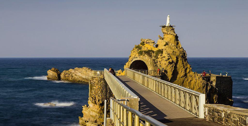 Venga a conocer Biarritz