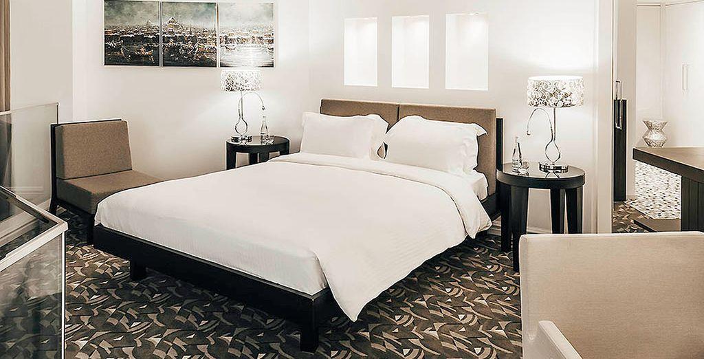 Las habitaciones del hotel están cuidadas con mimo
