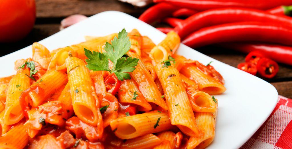 Deguste la gastronomía típica de Nápoles y de toda Italia