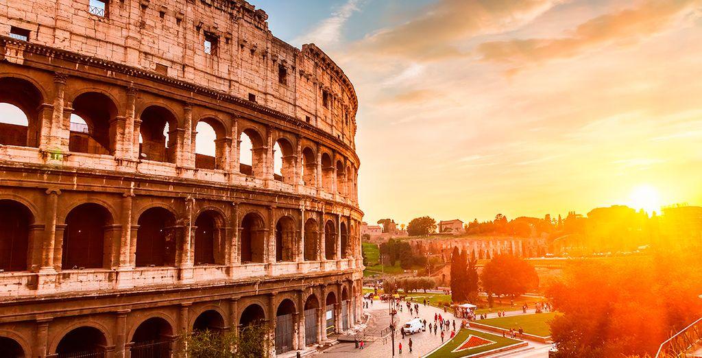 Escápese a Roma en hotel de 4 estrellas