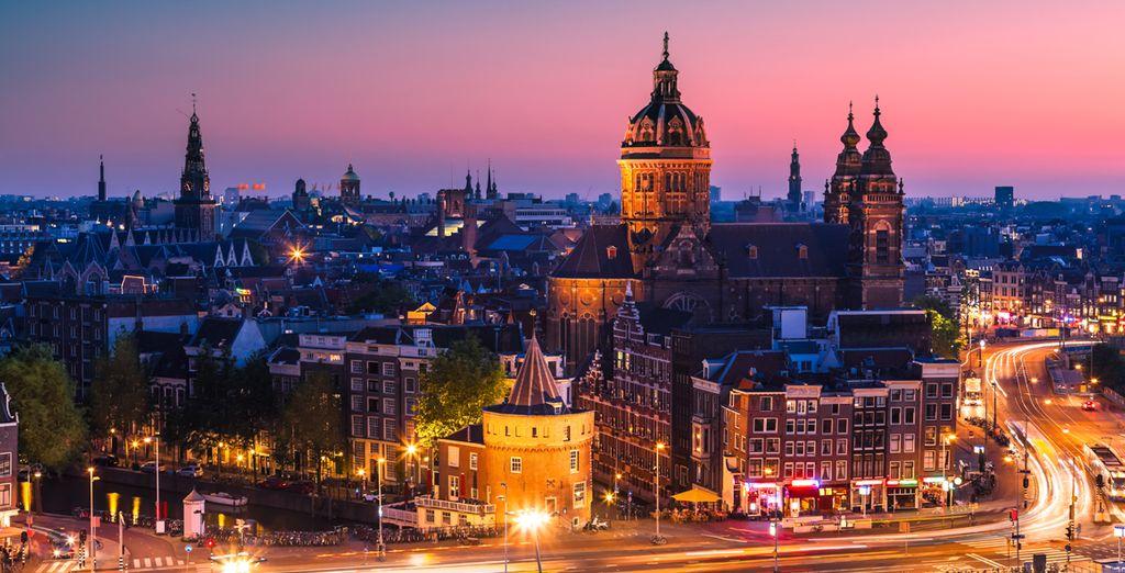 Contemple las magníficas vistas de la ciudad