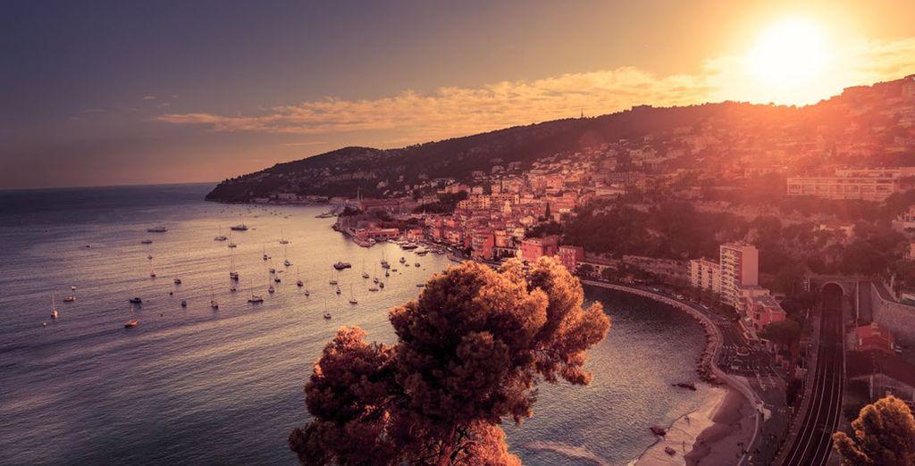 Descubra Niza y enamórese del sur de Francia