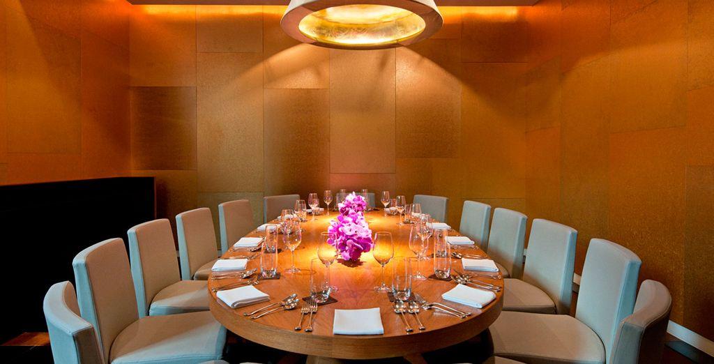 Disfrute de este espléndido hotel junto con sus restaurantes