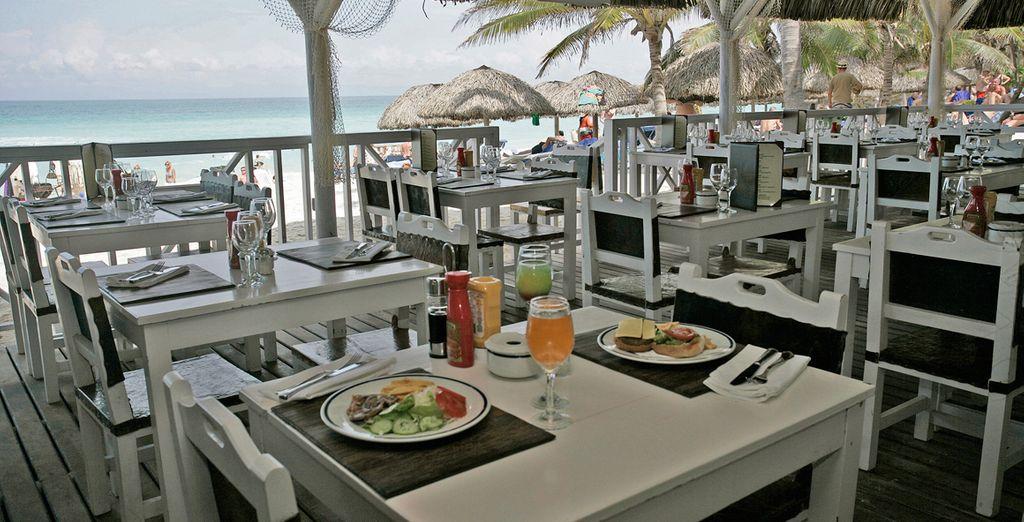 Deguste el menú del Restaurante Ranchón Playa Vardero