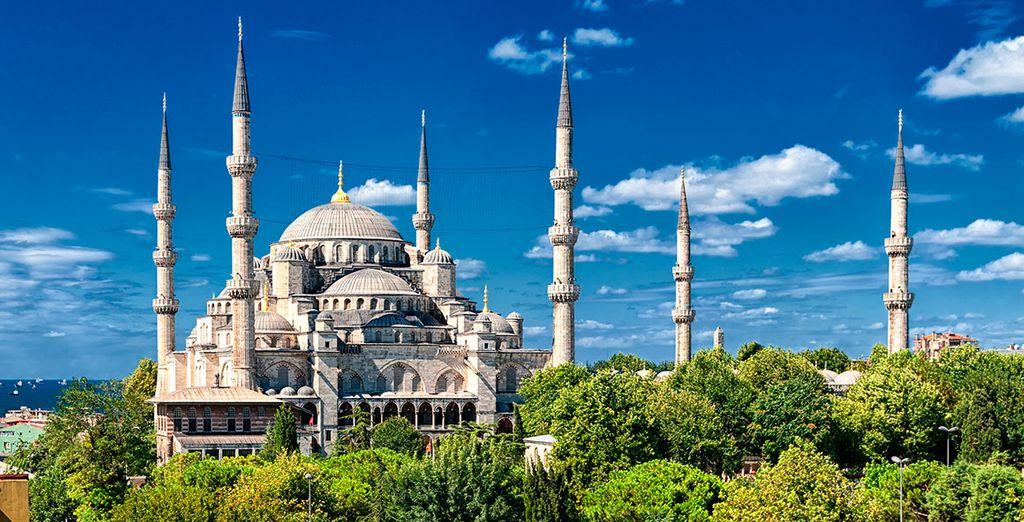 Bienvenido a Estambul, conocida en el pasado como Bizancio y Constantinopla