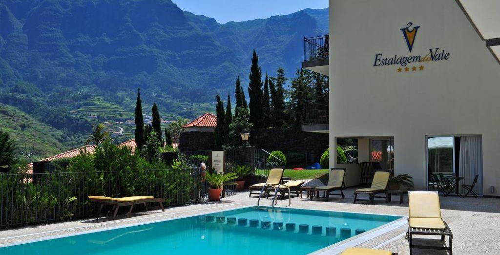 Tus vacaciones en Madeira te esperan desde el hotel Estalagem do Vale 4*