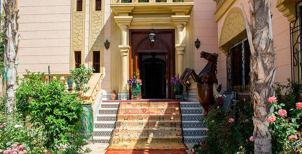 Lujo, comfort y encanto en el Riad Villart
