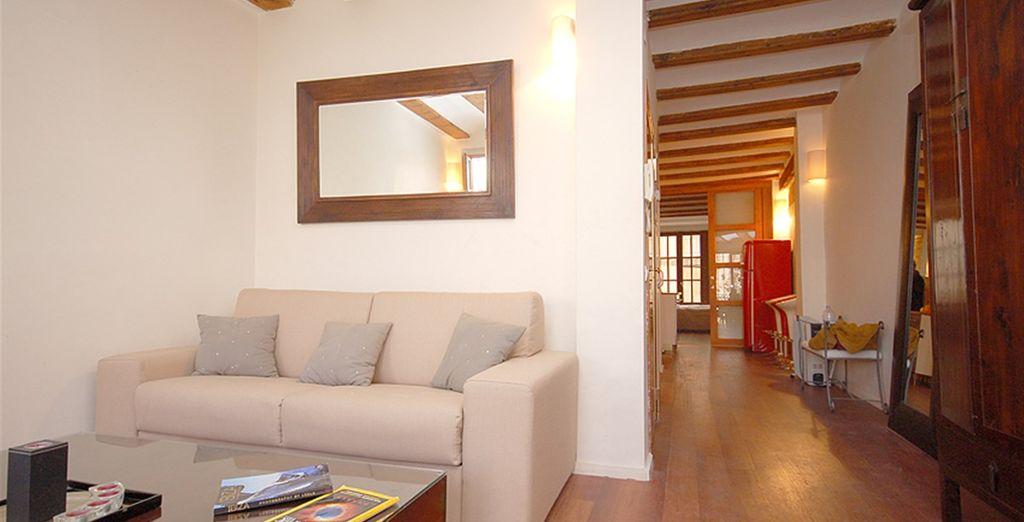 Apartamento 1: un espacio para relajarse