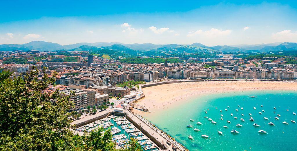 Donostia - San Sebastián tan cercana...