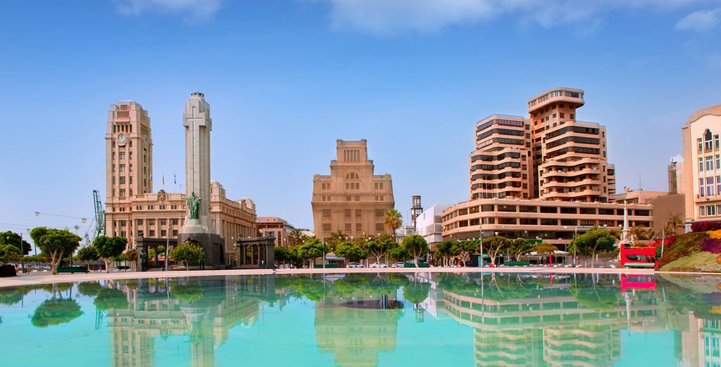 Conozca Santa Cruz de Tenerife, la capital