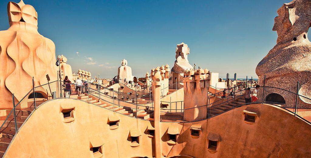 Una de las obras maestras de Gaudí