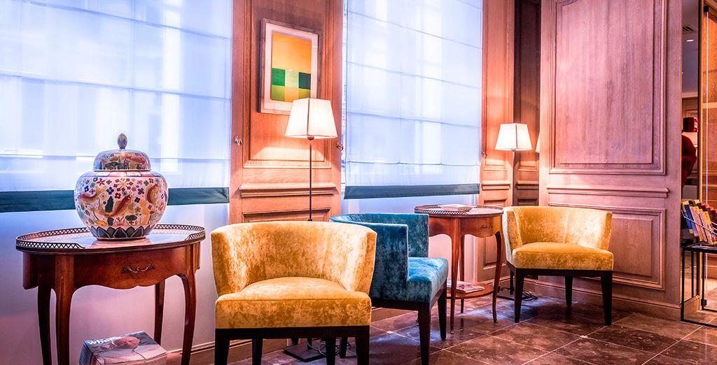Interiores con clase y encanto