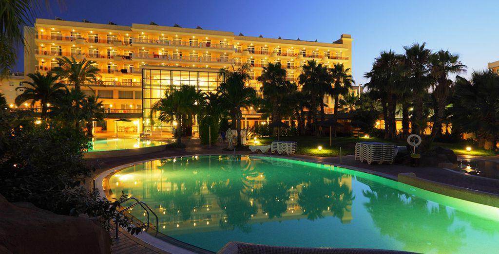 Disfrute de este maravilloso hotel