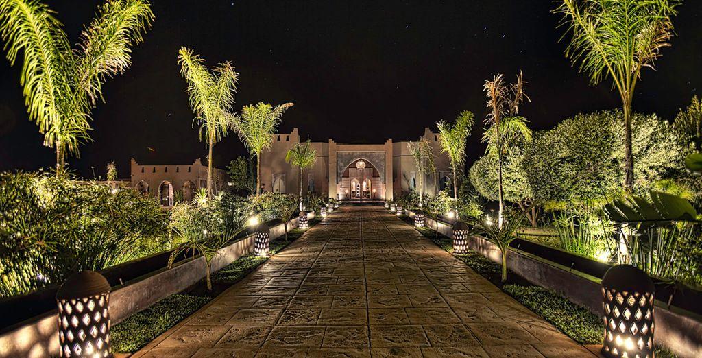 Un hotel boutique con un aire árabe espectacular